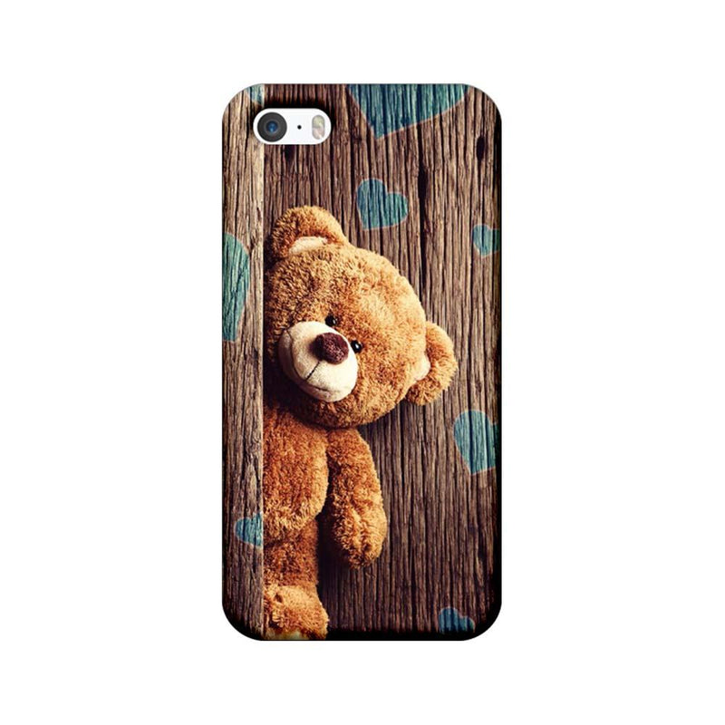 Apple iPhone 5 / 5s / SE Mobile Cover Printed Designer Case Teddy Bear