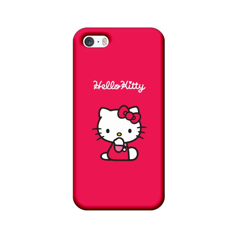 Apple iPhone 5 / 5s / SE Mobile Cover Printed Designer Case Hello Kitty