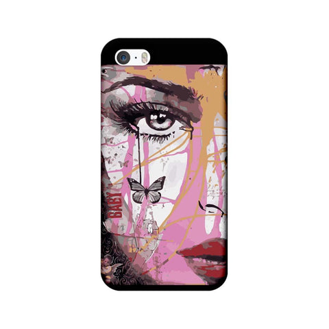 Apple iPhone 5 / 5s / SE Mobile Cover Printed Designer Case Baby Art