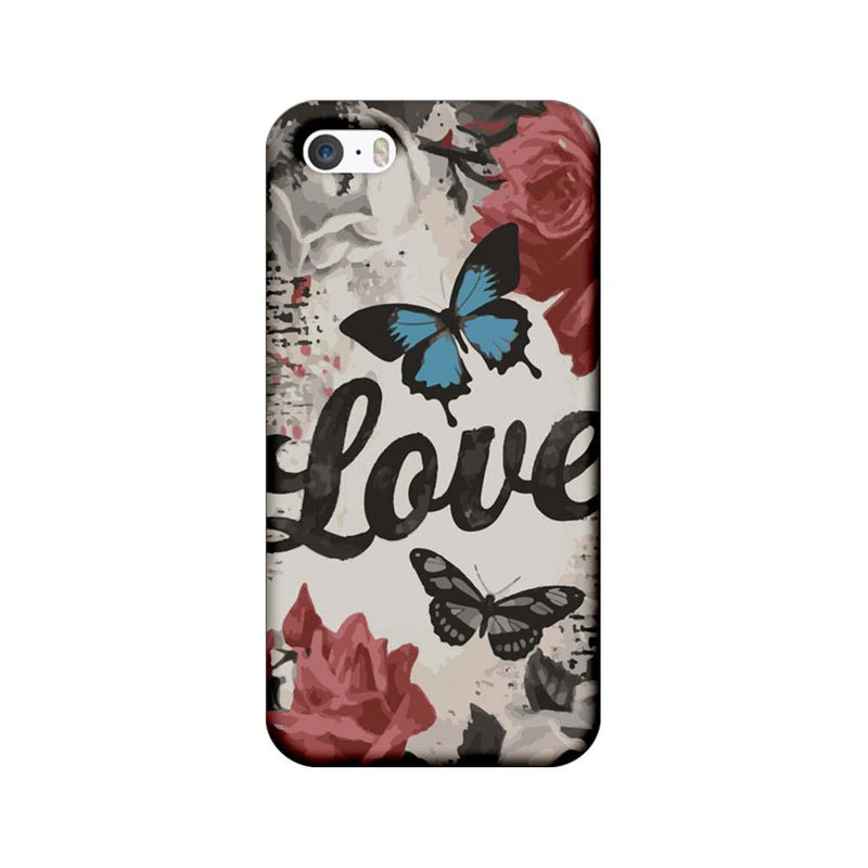 Apple iPhone 5 / 5s / SE Mobile Cover Printed Designer Case Love
