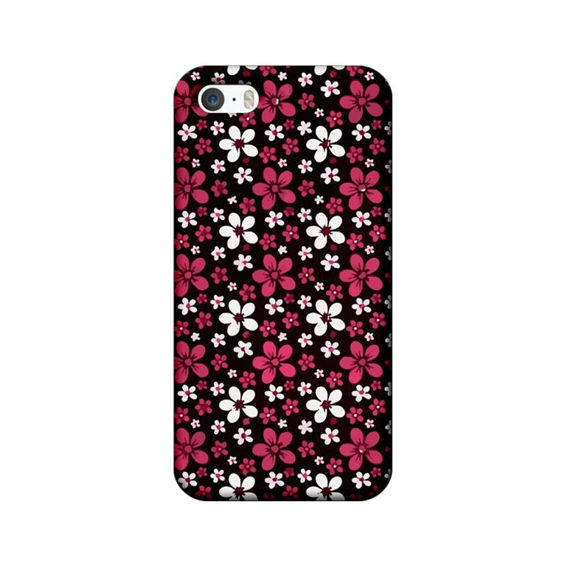 Apple iPhone 5 / 5s / SE Mobile Cover Printed Designer Case Florals 2.0