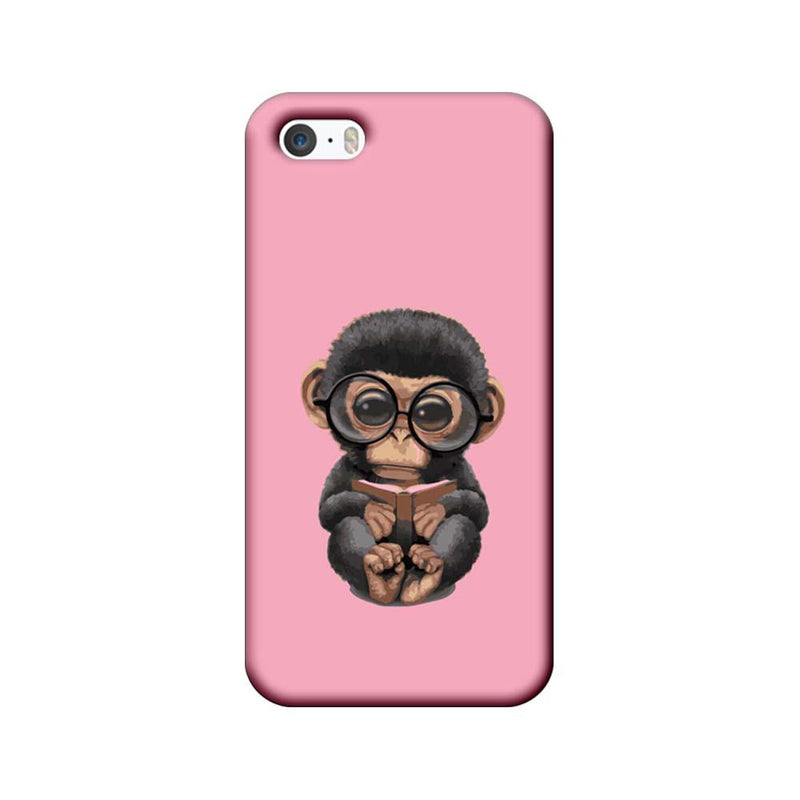 Apple iPhone 5 / 5s / SE Mobile Cover Printed Designer Case Cute Gorilla