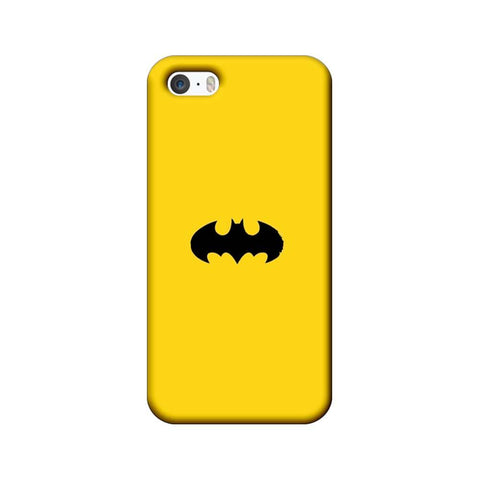 Apple iPhone 5 / 5s / SE Mobile Cover Printed Designer Case Batman Logo