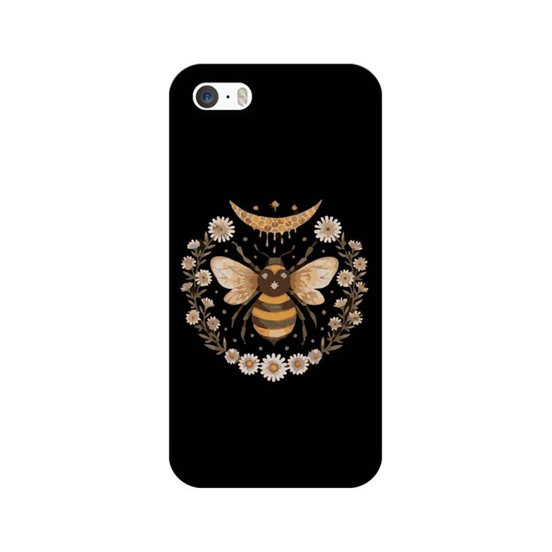 Apple iPhone 5 / 5s / SE Mobile Cover Printed Designer Case Honey Bee