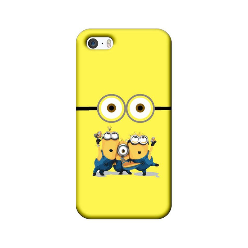 Apple iPhone 5 / 5s / SE Mobile Cover Printed Designer Case Minions