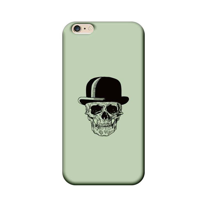 Apple iPhone 6 / 6s Mobile Cover Printed Designer Case Skull head with Hat