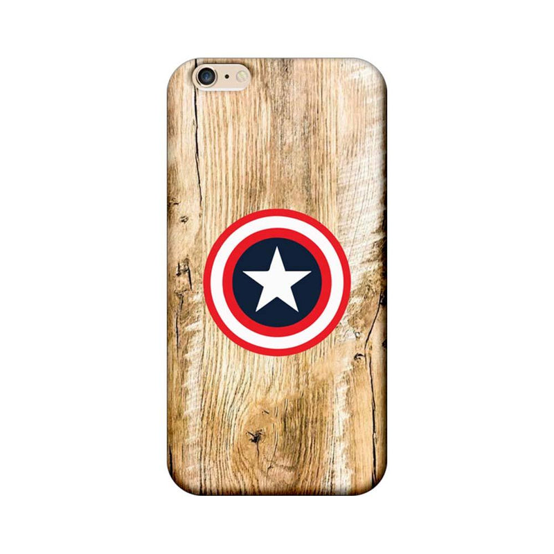 Apple iPhone 6 / 6s Mobile Cover Printed Designer Case Captain America Sheild