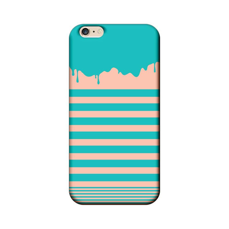 Apple iPhone 6 / 6s Mobile Cover Printed Designer Case Stripes and Brush Stroke