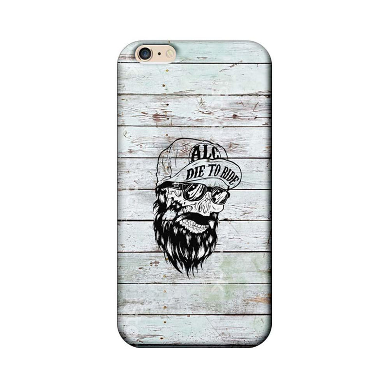 Apple iPhone 6 / 6s Mobile Cover Printed Designer Case Beard Skeleton