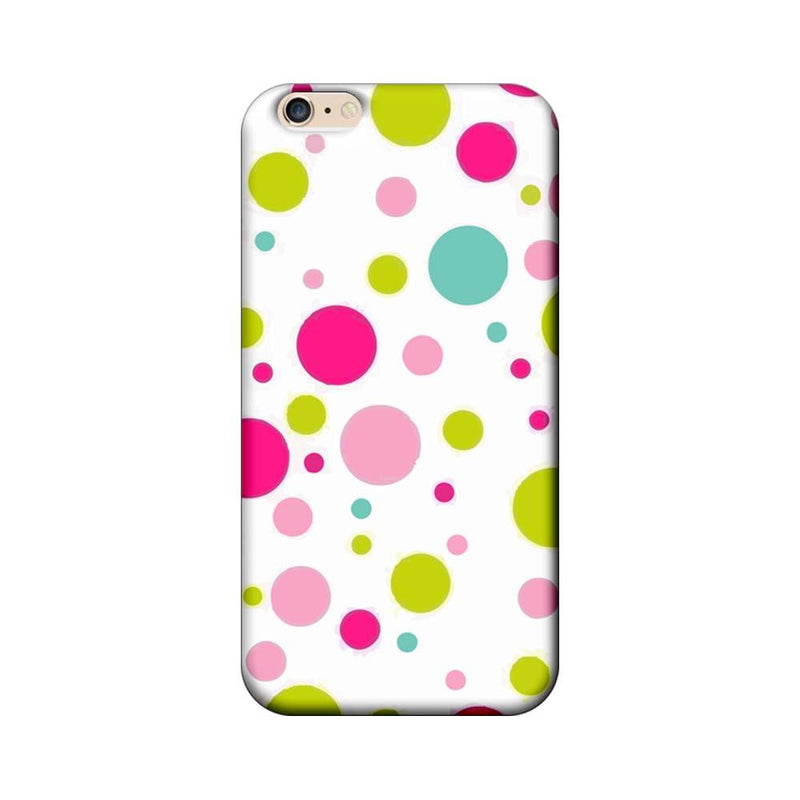 Apple iPhone 6 / 6s Mobile Cover Printed Designer Case Multi Colour Polka Dots
