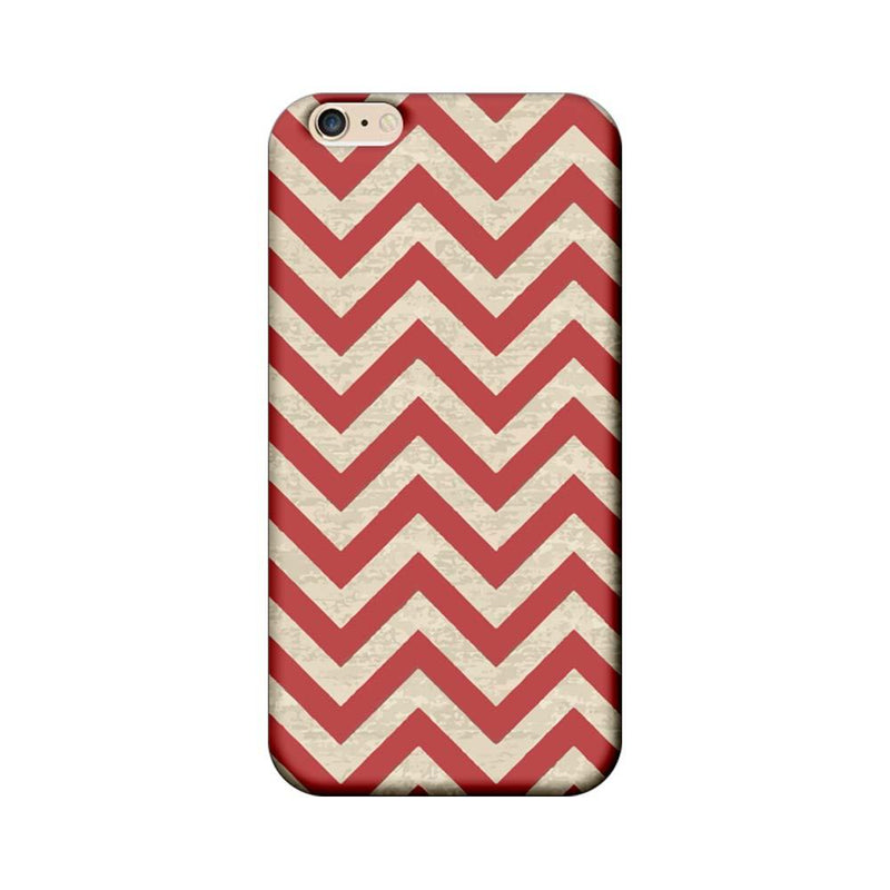 Apple iPhone 6 / 6s Mobile Cover Printed Designer Case Zigzag Stripes