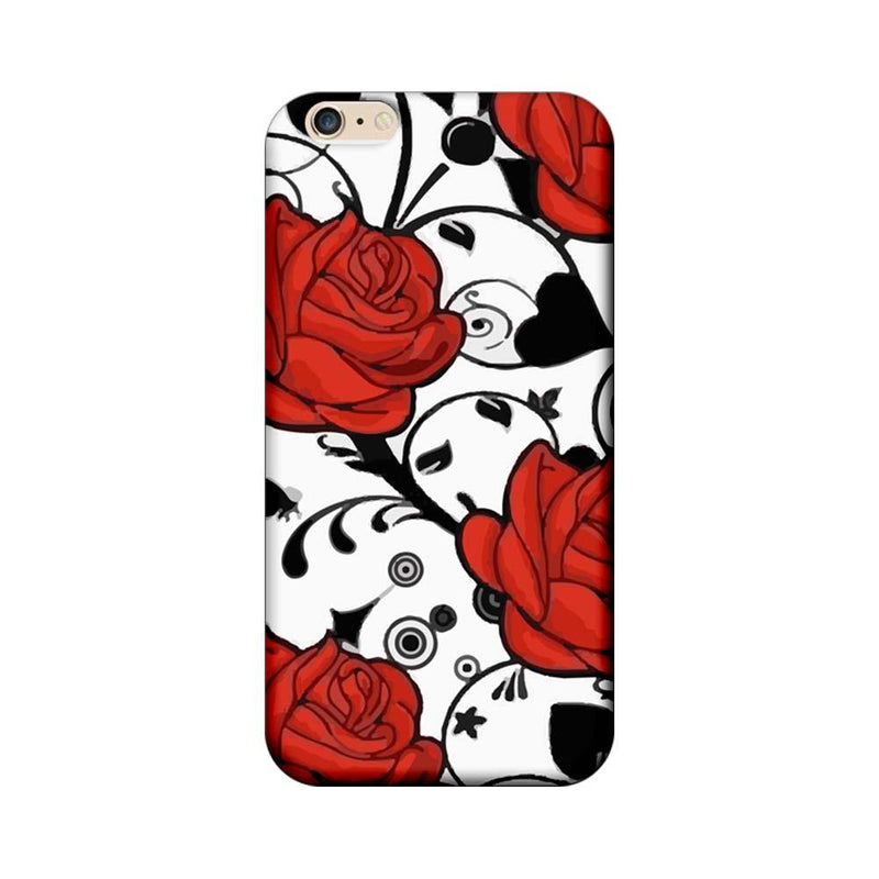 Apple iPhone 6 / 6s Mobile Cover Printed Designer Case Red Roses
