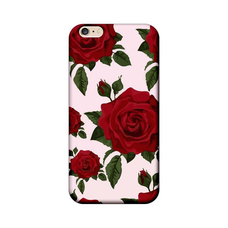 Apple iPhone 6 / 6s Mobile Cover Printed Designer Case Red Rose