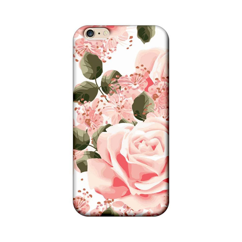 Apple iPhone 6 / 6s Mobile Cover Printed Designer Case Pink Rose