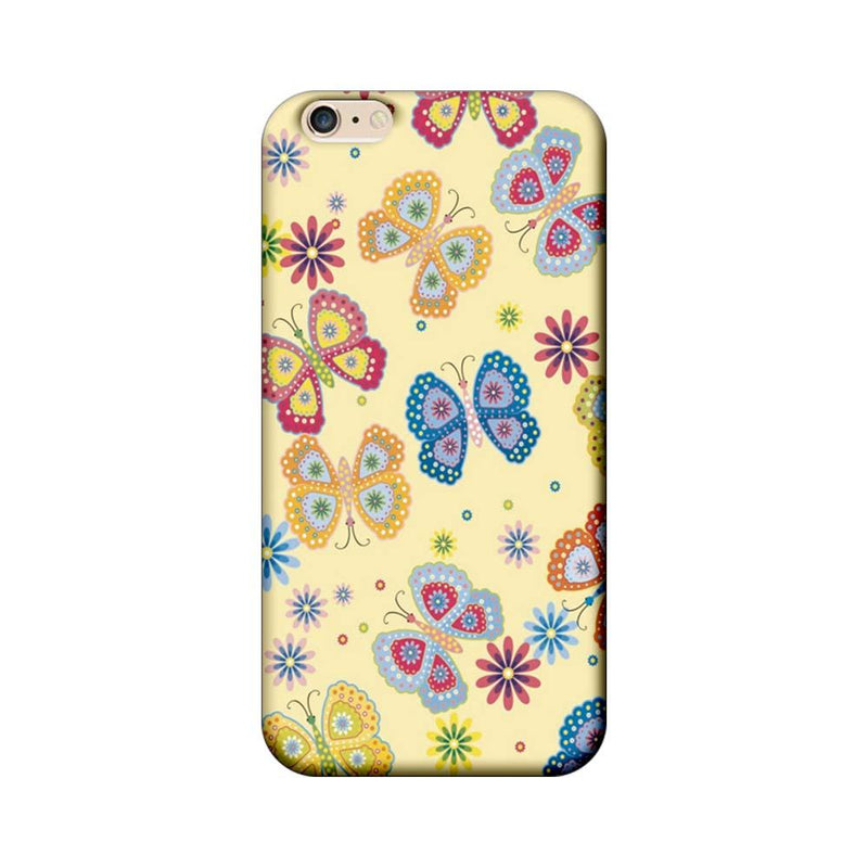 Apple iPhone 6 / 6s Mobile Cover Printed Designer Case Butterflies