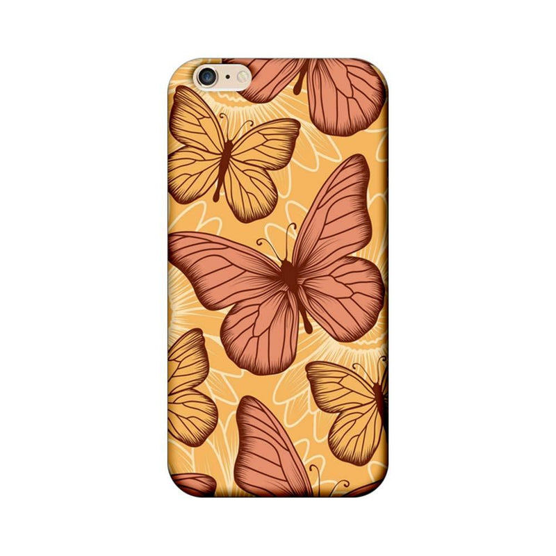 Apple iPhone 6 / 6s Mobile Cover Printed Designer Case Butterflies 2.0