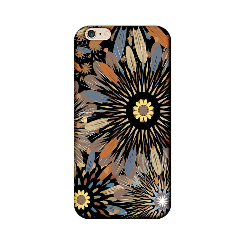 Apple iPhone 6 / 6s Mobile Cover Printed Designer Case Floral Art 2.0