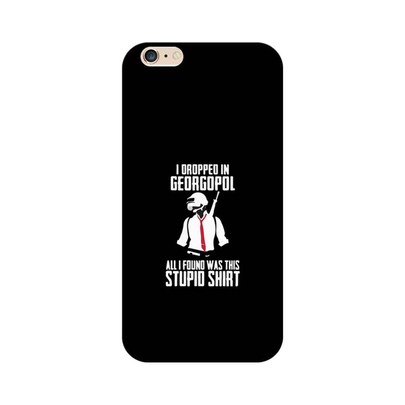 Apple iPhone 6 / 6s Mobile Cover Printed Designer Case Stupid Shirt