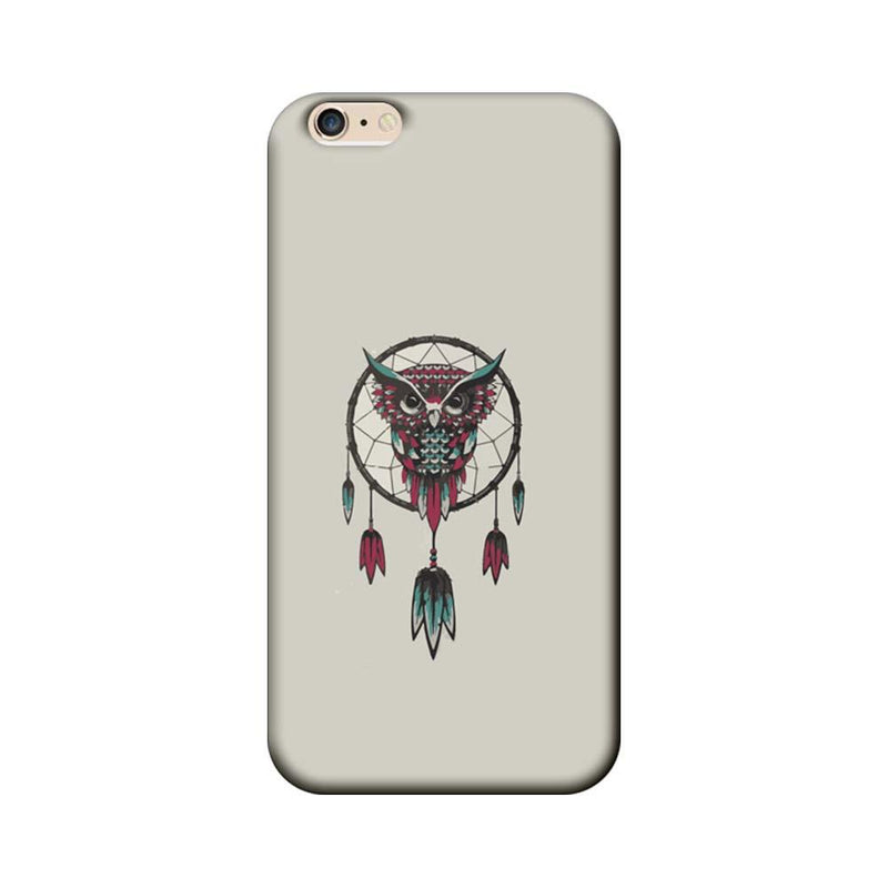 Apple iPhone 6 / 6s Mobile Cover Printed Designer Case Owl Earing
