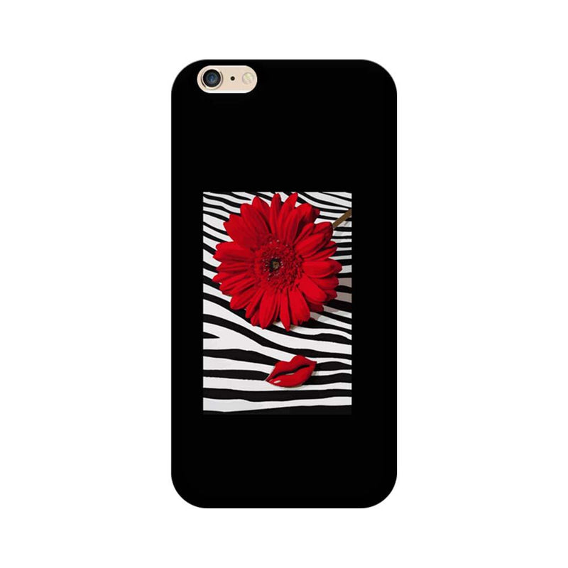Apple iPhone 6 / 6s Mobile Cover Printed Designer Case Red Floral