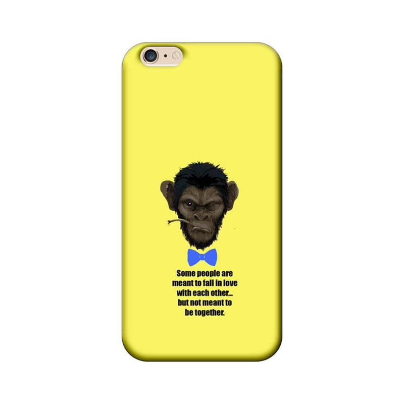 Apple iPhone 6 / 6s Mobile Cover Printed Designer Case Some People Are Meant to Fall in Love