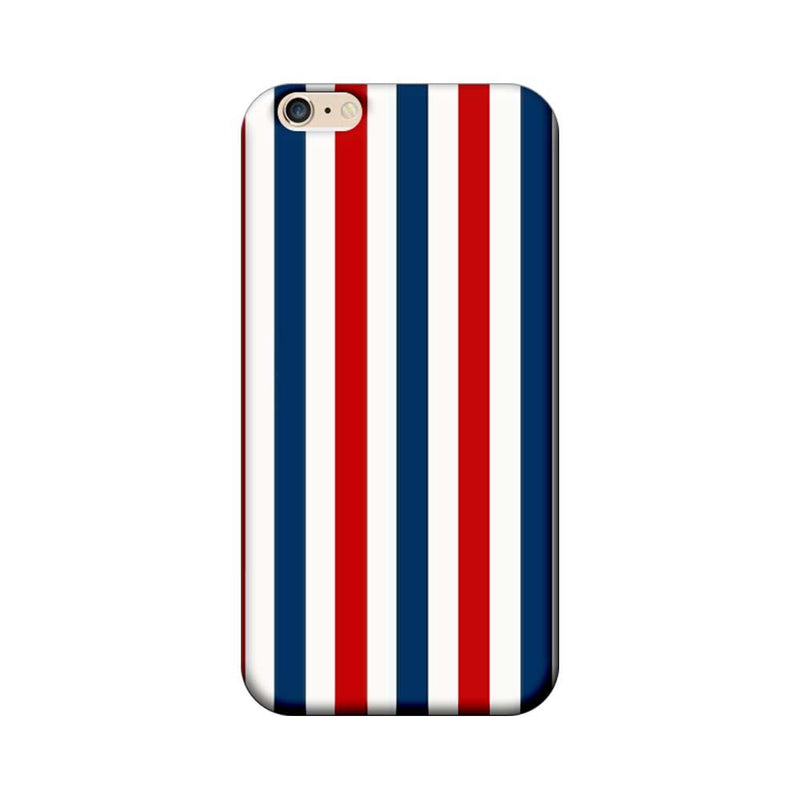 Apple iPhone 6 / 6s Mobile Cover Printed Designer Case Blue and Red Stripes