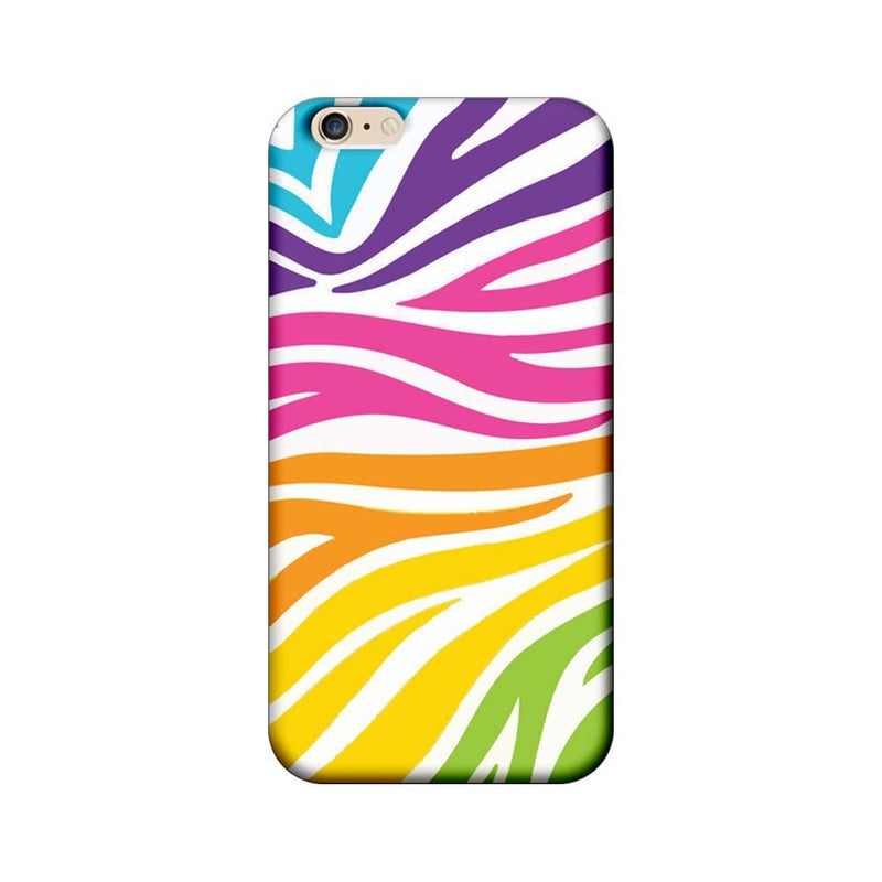 Apple iPhone 6 Plus / 6s Plus Mobile Cover Printed Designer Case Multicolour Zebre Pattern