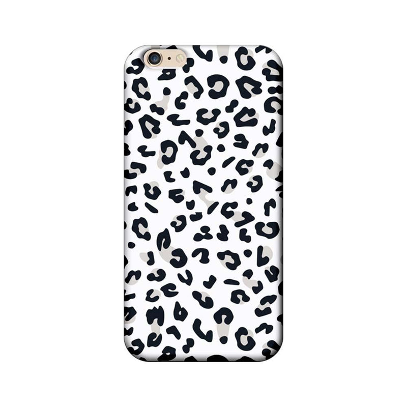 Apple iPhone 6 Plus / 6s Plus Mobile Cover Printed Designer Case White Cheetah Pattern