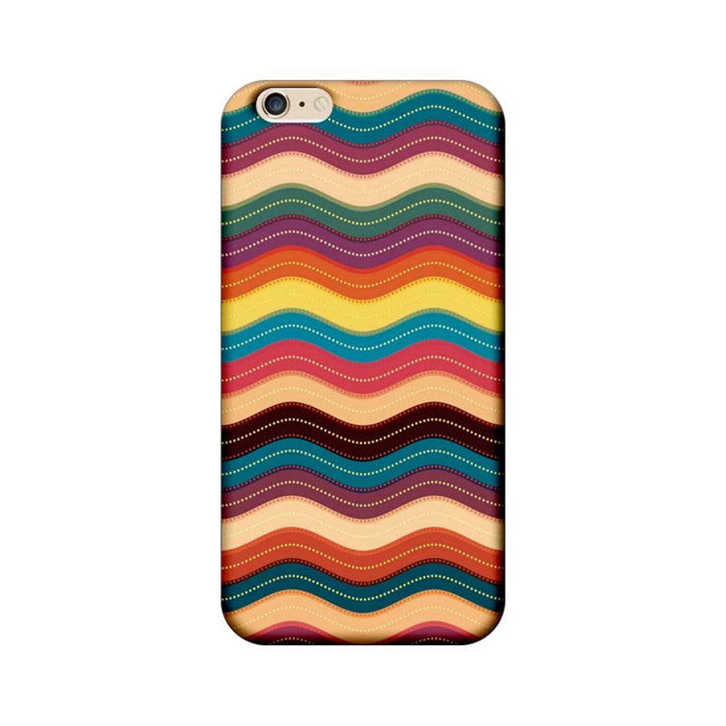 Apple iPhone 6 Plus / 6s Plus Mobile Cover Printed Designer Case Multi Colour Waves