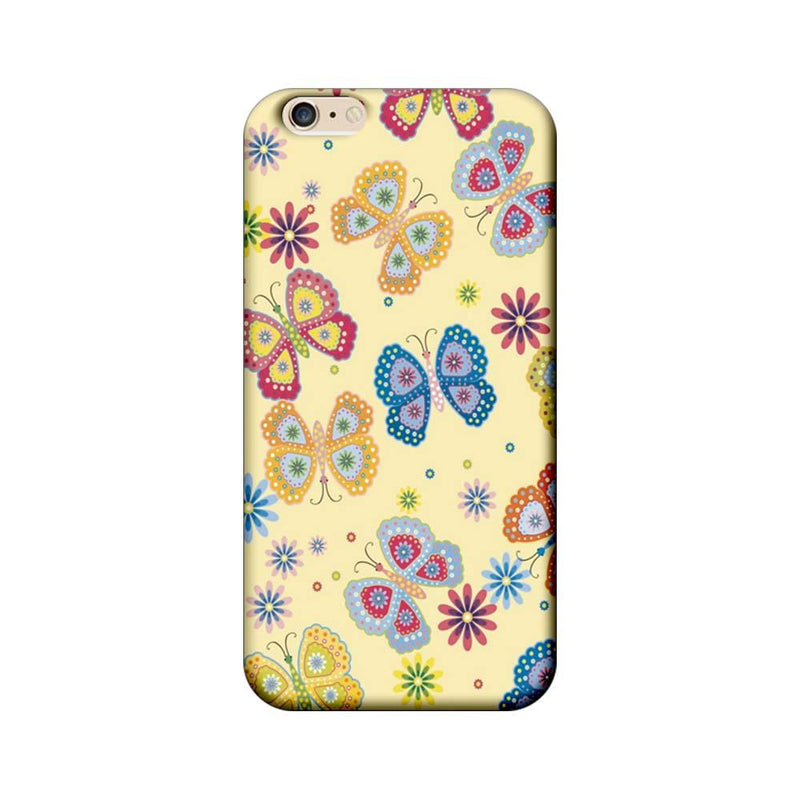 Apple iPhone 6 Plus / 6s Plus Mobile Cover Printed Designer Case Butterflies