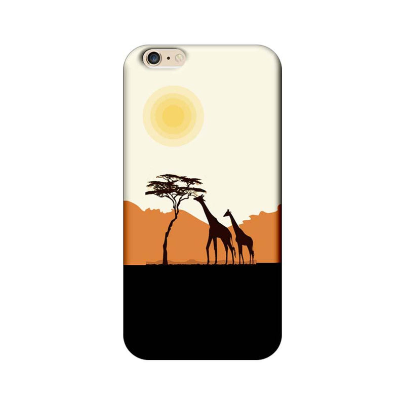 Apple iPhone 6 Plus / 6s Plus Mobile Cover Printed Designer Case Giraffe Giraffe