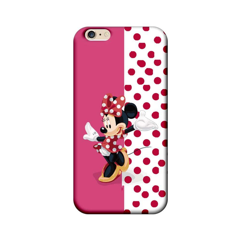 Apple iPhone 6 Plus / 6s Plus Mobile Cover Printed Designer Case Dotted Mickey Mouse