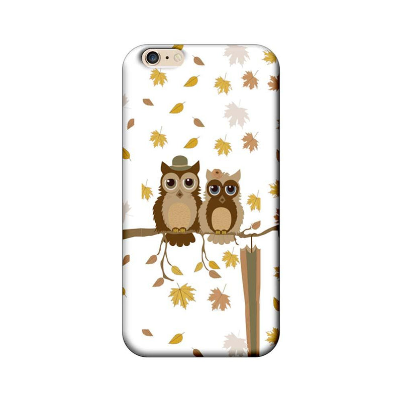 Apple iPhone 6 Plus / 6s Plus Mobile Cover Printed Designer Case Owls
