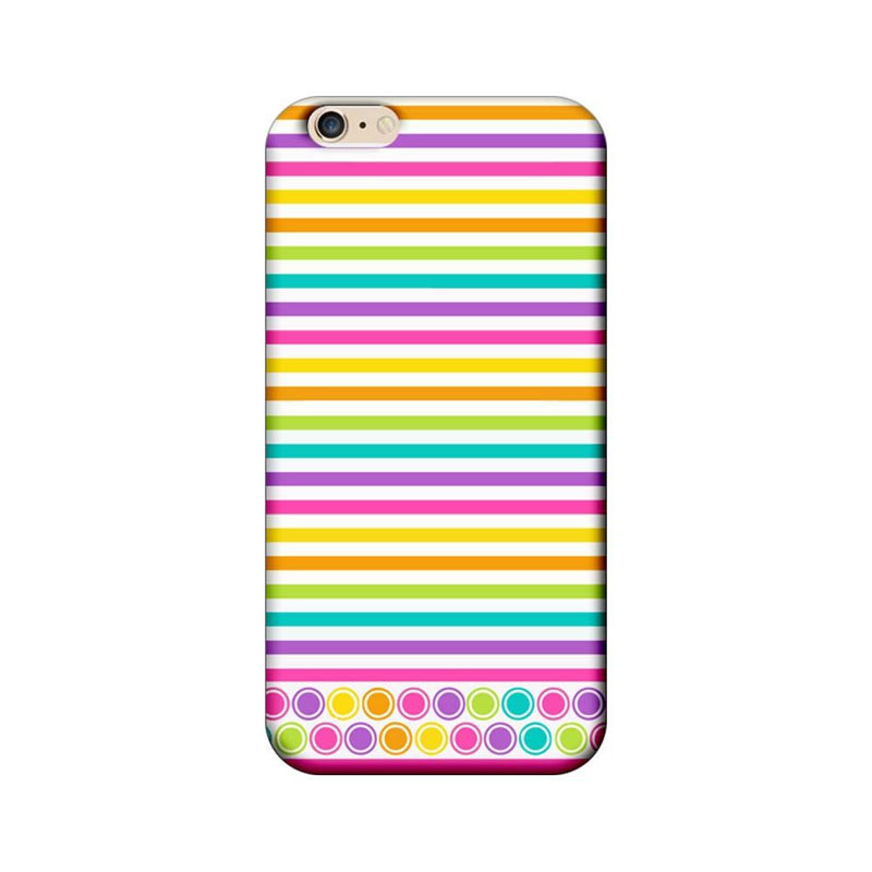 Apple iPhone 6 Plus / 6s Plus Mobile Cover Printed Designer Case Stripes Pattern Three