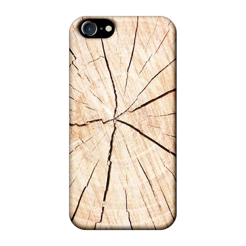 Apple iPhone 7 Mobile Cover Printed Designer Case Crack Wood