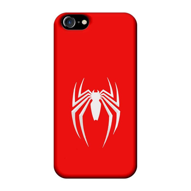 Apple iPhone 8 Mobile Cover Printed Designer Case Spiderman Logo