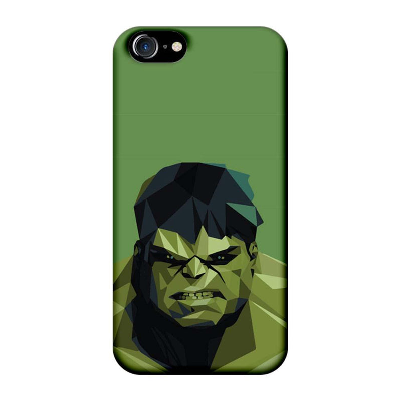 Apple iPhone 8 Mobile Cover Printed Designer Case Angry Hulk