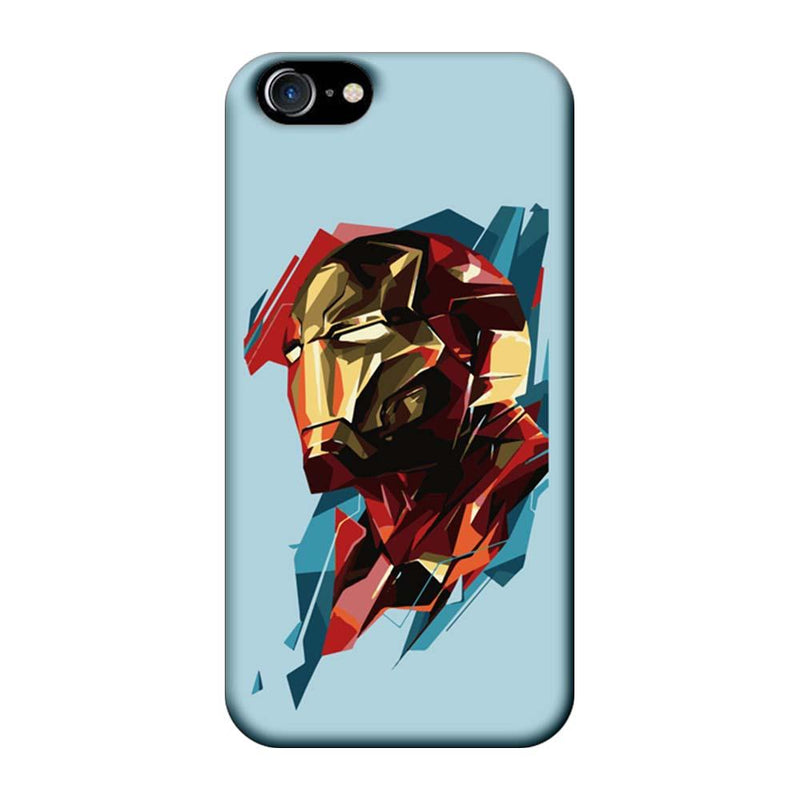 Apple iPhone 8 Mobile Cover Printed Designer Case Ironman illustration 2.0