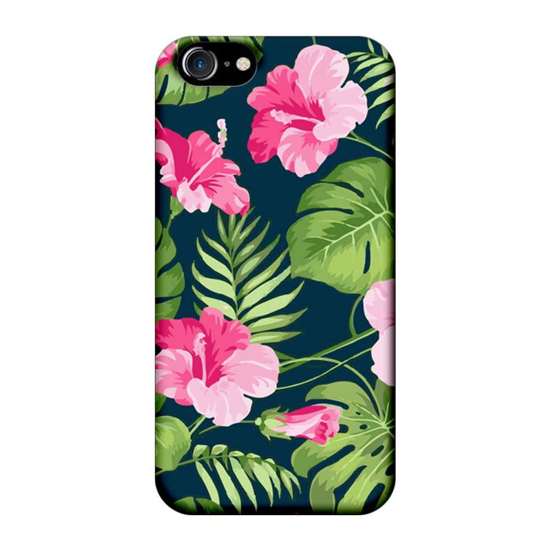 Apple iPhone 7 Mobile Cover Printed Designer Case Pink Floral