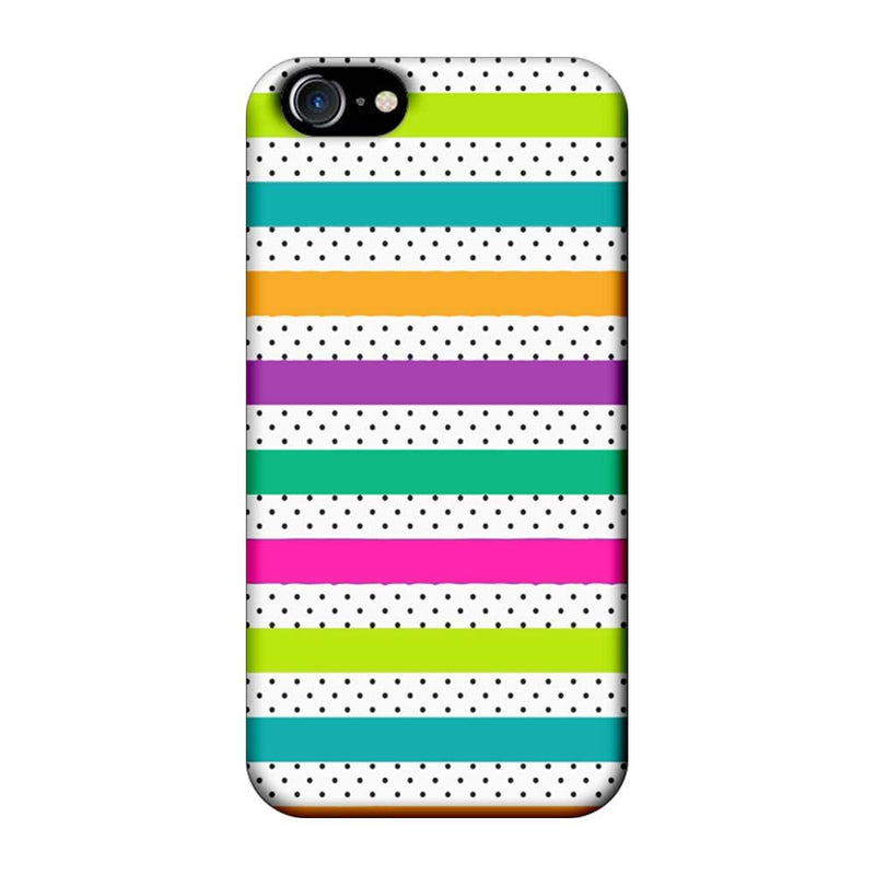 Apple iPhone 7 Mobile Cover Printed Designer Case Multi Stars 2.0