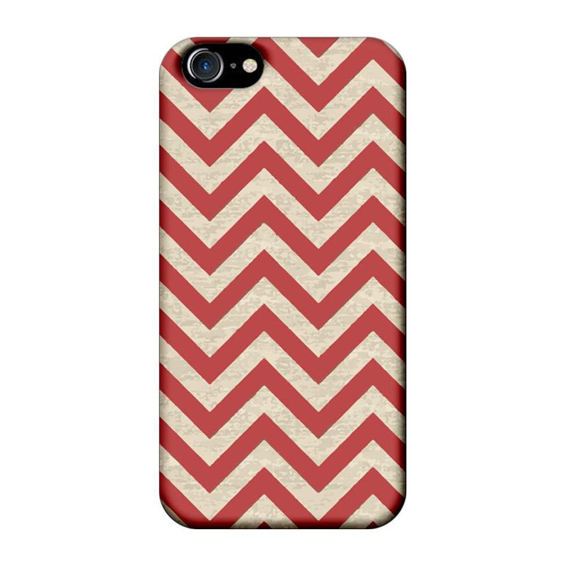 Apple iPhone 7 Mobile Cover Printed Designer Case Zigzag Stripes