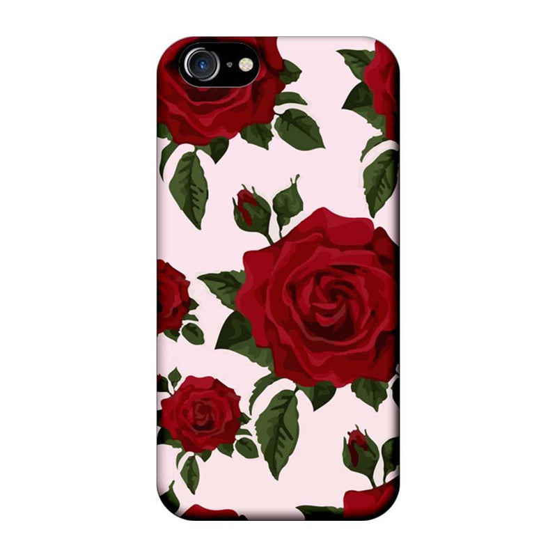 Apple iPhone 7 Mobile Cover Printed Designer Case Red Rose