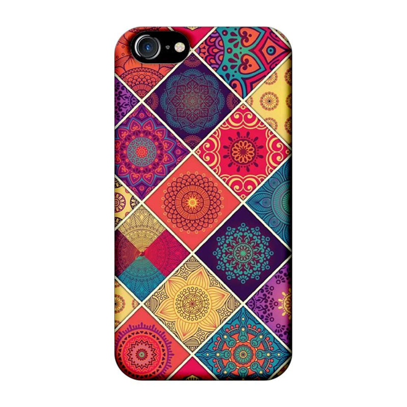 Apple iPhone 8 Mobile Cover Printed Designer Case Indian Arts