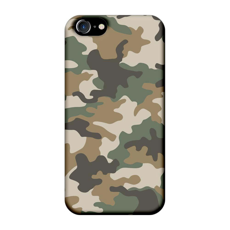Apple iPhone 8 Mobile Cover Printed Designer Case Military Pattern