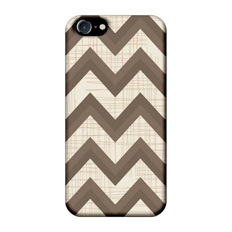 Apple iPhone 7 Mobile Cover Printed Designer Case Elephant colour Zigzag