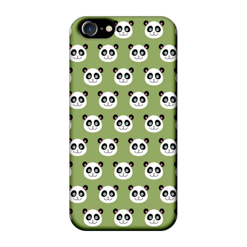 Apple iPhone 7 Mobile Cover Printed Designer Case Multiple Pandas
