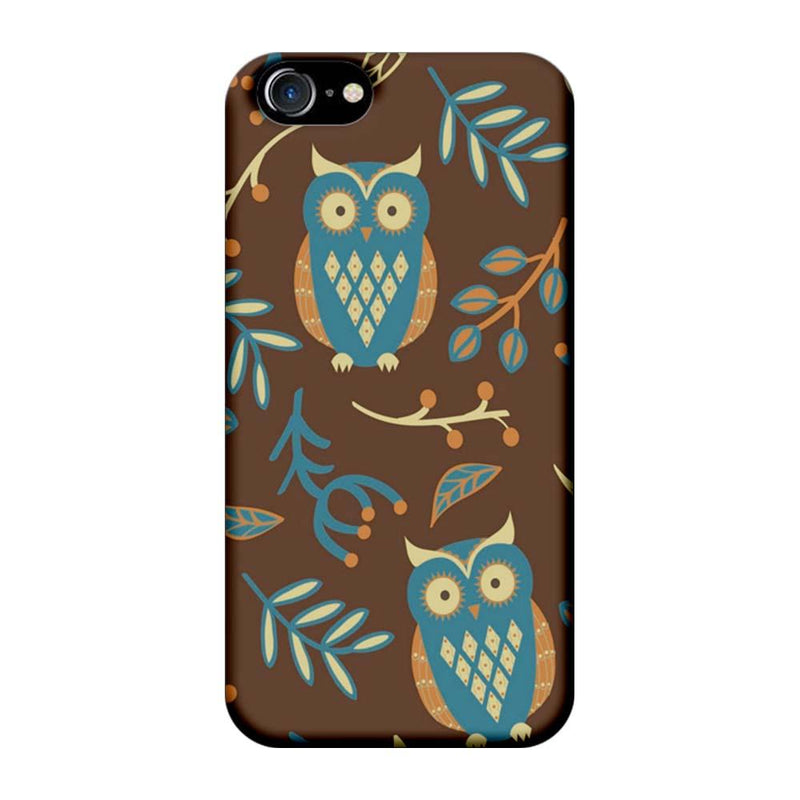 Apple iPhone 7 Mobile Cover Printed Designer Case Indian Art Owl