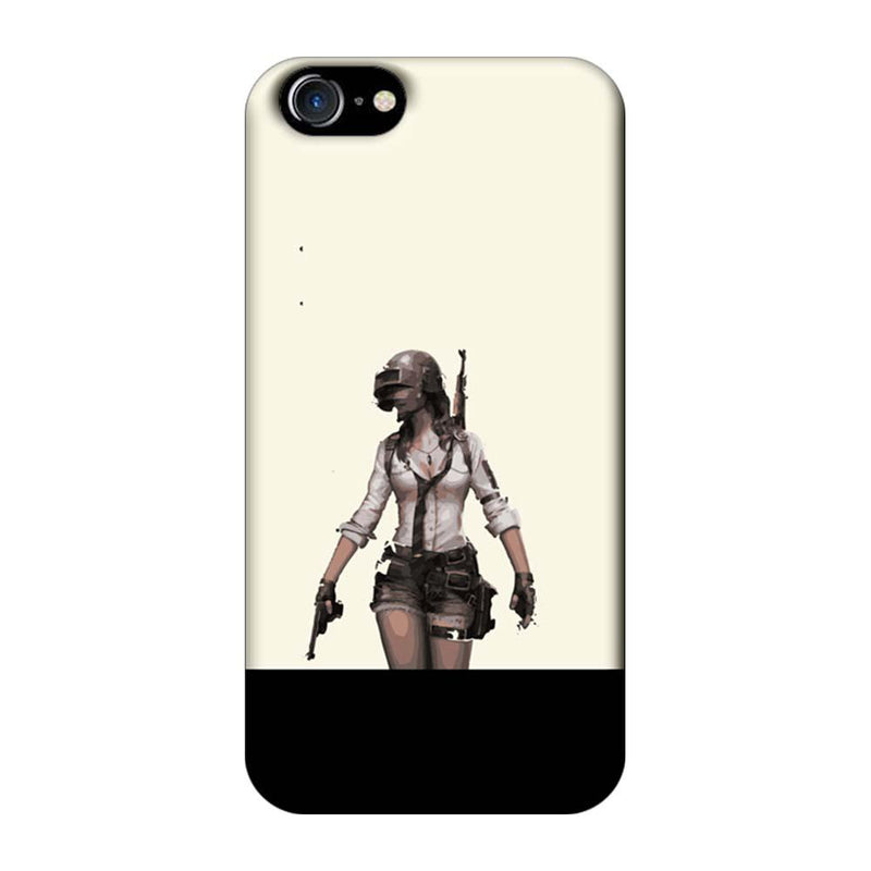 Apple iPhone 7 Mobile Cover Printed Designer Case PUBG