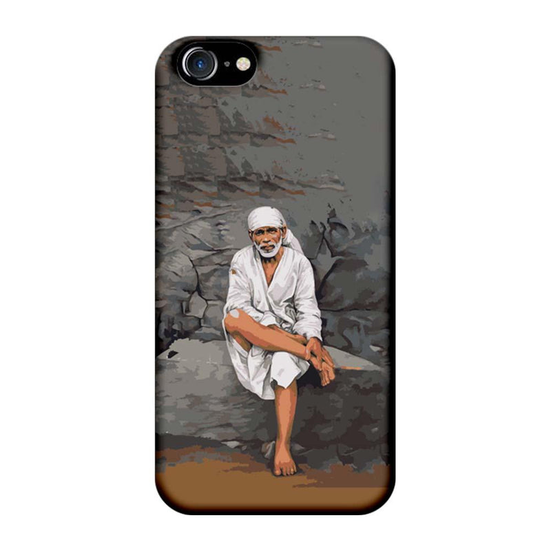 Apple iPhone 8 Mobile Cover Printed Designer Case Lord Sai Baba