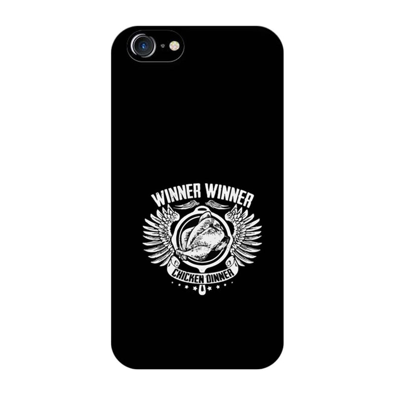 Apple iPhone 8 Mobile Cover Printed Designer Case PUBG Winner Winner Chicken Dinner